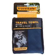 Camping et randonnée Admirable Serviette de voyage microfibre Travelsafe TS3061 bleu royal taille M