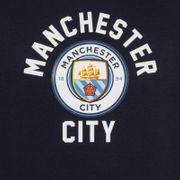 Manchester City FC officiel - Pull à capuche thème football - polaire/avec motif - garçon