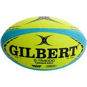 Ballon de rugby Gilbert G-TR4000 Trainer Fluo (taille 4)