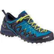 Chaussures Salewa Wildfire Edge bleu clair jaune noir