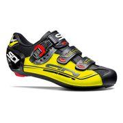 Chaussures Sidi Genius 7 Mega Wide Fit noir jaune fluo