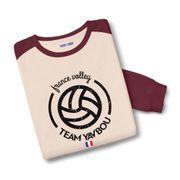 Sweatshirt bicolore France volley Yavbou ball