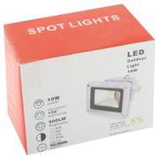 Projecteur luminaire HD10W Haute Puissance Lampe de Projecteur, Lumière Blanche LED, AC 85-265V, Flux Lumineux: 900lm