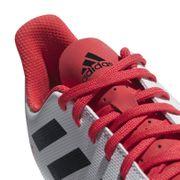 Predator 18.4 Flexible Ground Junior Boots - White/Red