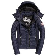 Superdry Hooded Box Quilt Fuji
