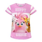 Angry Birds - T-shirt à manches courtes - Fille