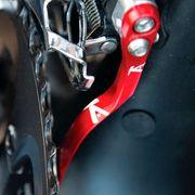 Protecteur de chaine K-EDGE PRO Road Braze-on rouge