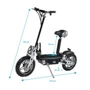 PIKI CROSS 1000 - Trottinette électrique 1000W Batterie 36V12Ah - Roue 10