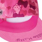 Casquette Buff Hello Kitty 5 Panel Cap Camo Pink rose enfant