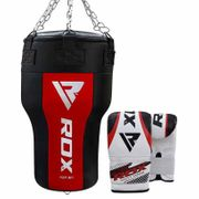 Rdx Sports Punch Bag Angle Red New