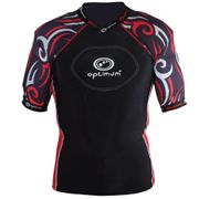 Optimum Razor Rugby Body Protection Black/Red