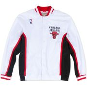 Veste d'échauffement M&N Nba Authentic Chicago Bulls