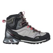 Chaussures Montantes De Randonnée Gore-tex Millet Ld High Route Gtx Hibiscus/heather Grey Femme