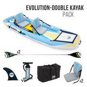 Le Kayak/SUP gonflable 2-en-1 AquaMarina- EVOLUTION 10'4