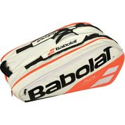 Babolat - Pure Racket Holder X12 Sac de Tennis (blanc/rouge)