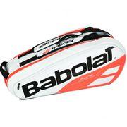 Babolat - Pure Racket Holder X6 Sac de Tennis (blanc/rouge)