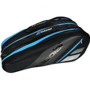 Babolat - Racket Holder X12 TEAM Sac de Tennis (noir/bleu)