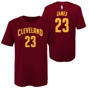 Tee-shirt à manches courtes NBA Branded Flat Replica N.N SS Tee Cleveland Cavaliers Junior