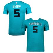 Tee-shirt à manches courtes NBA Branded Flat Replica N.N SS Tee Charlotte Hornets Junior