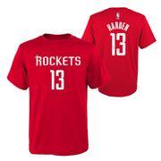 Tee-shirt à manches courtes NBA Branded Flat Replica N.N SS Tee Houston Rockets Junior
