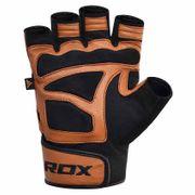 Rdx Sports Gym Glove Leather S12