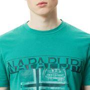 T-shirt Napapijri Sawy manche courte vert