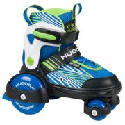 Hudora Roller Skate My First Quad Boy - Patins à Roulettes - Taille 26-29