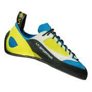 Chaussons d'escalade La Sportiva Finale bleu jaune