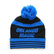 MITCHELL & NESS Bonnet Pompon Orlando MAGIC Bleu roi-Noir