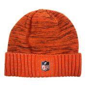 Bonnet NFL sans pompon Denver Broncos On Field 2017 New Era Knit Rush orange
