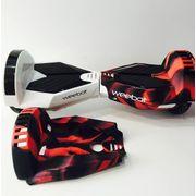 Housse siliconée de protection hoverboard 8 pouces (la paire)