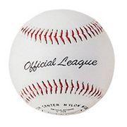 Balle de baseball liège synthétique 12
