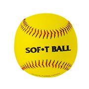 Balle de baseball mousse synthétique 12