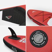 Stand Up Paddle Gonflable – Atlas 12'- 15cm d'épaisseur - avec pompe, pagaie, leash et sac de rangement