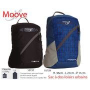 MOOVE - Petit Sac à dos, sac à dos 12 L - sac àdos urbain, loisirs, balade