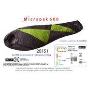 MICROPAK 600 - Sac de couchage + 15°C à + 5°C - sac de couchage léger 0,700kg