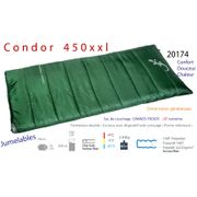 CONDOR 450xxl - Sac de couchage grand froid -20°C - grand sac de couchage couverture - Freetime