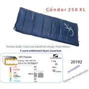 CONDOR 250 XL - Sac de couchage de +12°C à -7°C - sacsde couchage couverture 1 place