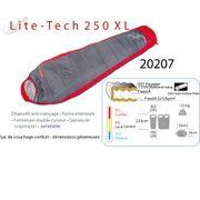 LITE TECH 250 XL - Sac de couchage de 9°C à - 9°C , sac de couchage 1 place - camping - sac de couchage sarco