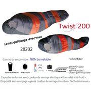 TWIST 200 - Sac de couchage qui bouge avec vous - 1 personne.