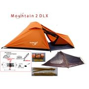 MOUNTAIN 2 DLX - tente montagne 2 places - tente légère - 2 Kg