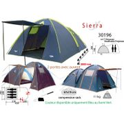 Sierra SIERRA - grande tente famille 3 à 4 places, tente familiale de camping