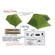 PEAK 2 DXAL - Tente légére - 1.4kg - Tente de randonnée légère 2 Places.
