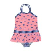Maillot de bain Enfant Seafolly Riviera Coast Skirted Tank Rose