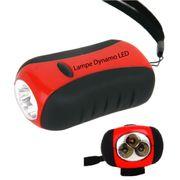 LAMPE Dynamo 3 LED - lampe torche, accessoire de camping - Freetime