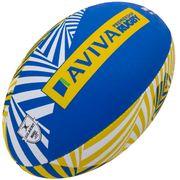 Ballon de rugby supporter Gilbert Aviva Premiership (taille 5)