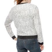 D7 Sweat Fille Veste Blanc Garcia Jeans
