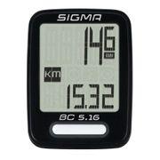 Sigma Ordinateur de vélo BC 5.16 Noir