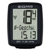 Sigma Ordinateur de vélo BC 7.16 ATS Noir