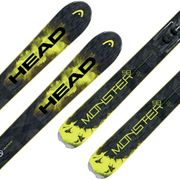 HEAD Monster 98 Ti Ski + Attack 13 Fixations Homme